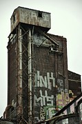 Montreal Buildings Digital Art - Canada Malting Plant St. Patrick by Reb Frost