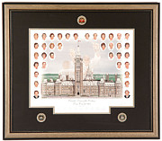 Hockey Mixed Media - Canada Team of the Century Limited Edition by Daniel Parry