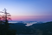Bc Coast Photos - Canadaian Gulf Islands at Dawn by Rob Tilley