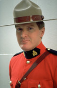 Fugitives Photo Prints - Canadian Mountie Print by Carl Purcell