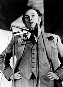 Prime Metal Prints - Canadian Prime Minister Pierre Trudeau Metal Print by Everett