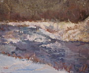 Brent Moody Paintings - Canadian River by Brent Moody