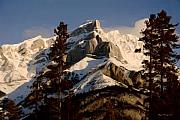 Calgary Artists Prints - Canadian Rockies II Print by Wayne Bonney