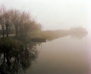 Canal Photo Originals - Canal Boat by Jan Faul