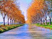 Midi Prints - Canal du Midi Print by Dominic Piperata