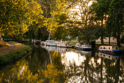 Midi Framed Prints - Canal Du Midi One Framed Print by Josh Whalen
