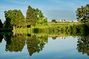 Agronomy Photos - Canal Du Midi Two by Josh Whalen