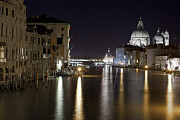 Evening Lights Prints - Canal Grande - Venice Print by Joana Kruse