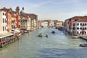 Canal Photo Prints - Canal Grande Venice Print by Joana Kruse
