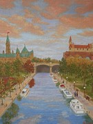 Darlene Agner - Canal in the Fall
