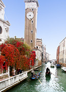 Gondolier Originals - Canal in Venice by Betty Eich