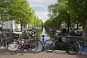 Canal Of Amsterdam Print by Joshua Francia