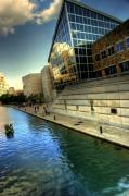 Indianapolis Digital Art - Canal by Off The Beaten Path Photography - Andrew Alexander