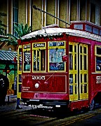 Canal Street Photos - Canal Streetcar by Perry Webster