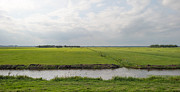 Eemnes Prints - Canal through a Dutch landscape in summer Print by Jan Marijs
