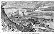 Keokuk Prints - Canals: Iowa, 1889 Print by Granger