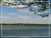 Finger Lake Framed Prints - Canandaigua Lake Framed Print by Rose Santuci-Sofranko