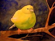 Canary Paintings - Canary by Nathan Buhler