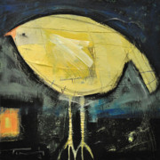 Yellow Beak Paintings - Canary by Tim Nyberg