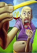Mcdonalds Paintings - Cancer by Robert  Nugent