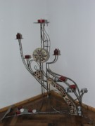 Iron  Sculptures - Candel Holdner by Raluca Polea