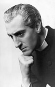 Hand On Chin Acrylic Prints - Candida, Basil Rathbone, Biltmore Acrylic Print by Everett