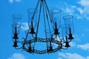Candle In The Sky Print by Hideaki Sakurai