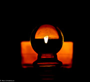 Stopper Photos - Candle Light by Mitch Shindelbower
