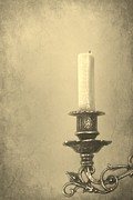 Antique Photo Originals - Candle by Sophie Vigneault