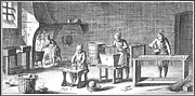18th Century Photos - CANDLEMAKING, 18th CENTURY by Granger