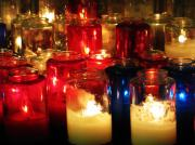 Gabriel Originals - Candles at Mission San Gabriel by Mic DBernardo