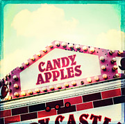 Fairgrounds Framed Prints - Candy Apples Framed Print by Kim Fearheiley