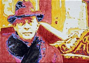 Fedora Paintings - Candy Coated Rachmaninoff by Sheri Parris