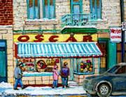 Candy Shop Print by Carole Spandau