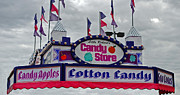 Cotton Candy Prints - Candy Store Print by Skip Willits