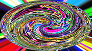 Candy Digital Art - Candy swirl spectrusphere by Twilight Vision