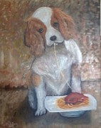 Quadro Art - Cane Mangione  by Antonio Cariola