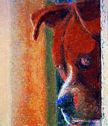 Wants Framed Prints - Canelo Wants In 2 Framed Print by John  Kolenberg