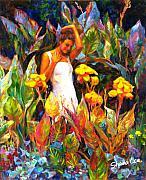 Canna Print by Shaina  Lee
