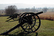 Antietam Framed Prints - Cannon at Antietam Framed Print by William Kuta