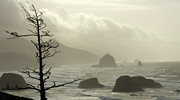 Haystack Rocks Prints - Cannon Beach 2 Print by Bob Christopher