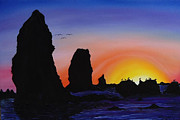 James Dunbar - Cannon Beach At Sunset 10