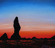 James Dunbar - Cannon Beach At Sunset 9