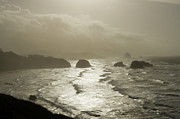 Haystack Rocks Prints - Cannon Beach Print by Bob Christopher