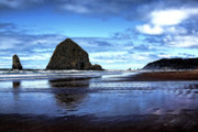 Sandy Beaches Posters - Cannon Beach Oregon II Poster by David Patterson