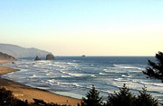Cannon Prints - Cannon Beach Surf Print by Will Borden