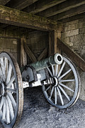 Shed Prints - Cannon Storage Print by Peter Chilelli