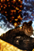Rail Digital Art - Cannonball Express by Bill Cannon