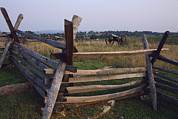 Sharpsburg Photos - Cannons At Antietam National by Raymond Gehman