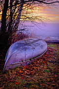 Canoe At Rest Print by Shutter Happens Photography